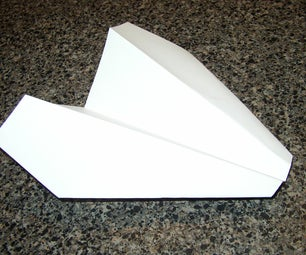 Long Distance Paper Glider