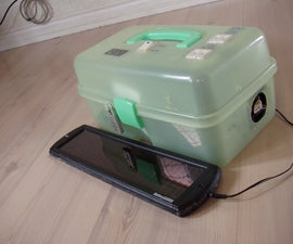 Portable Solar Powered 220V Power Supply