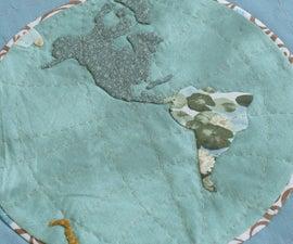 Applique Quilting a Map
