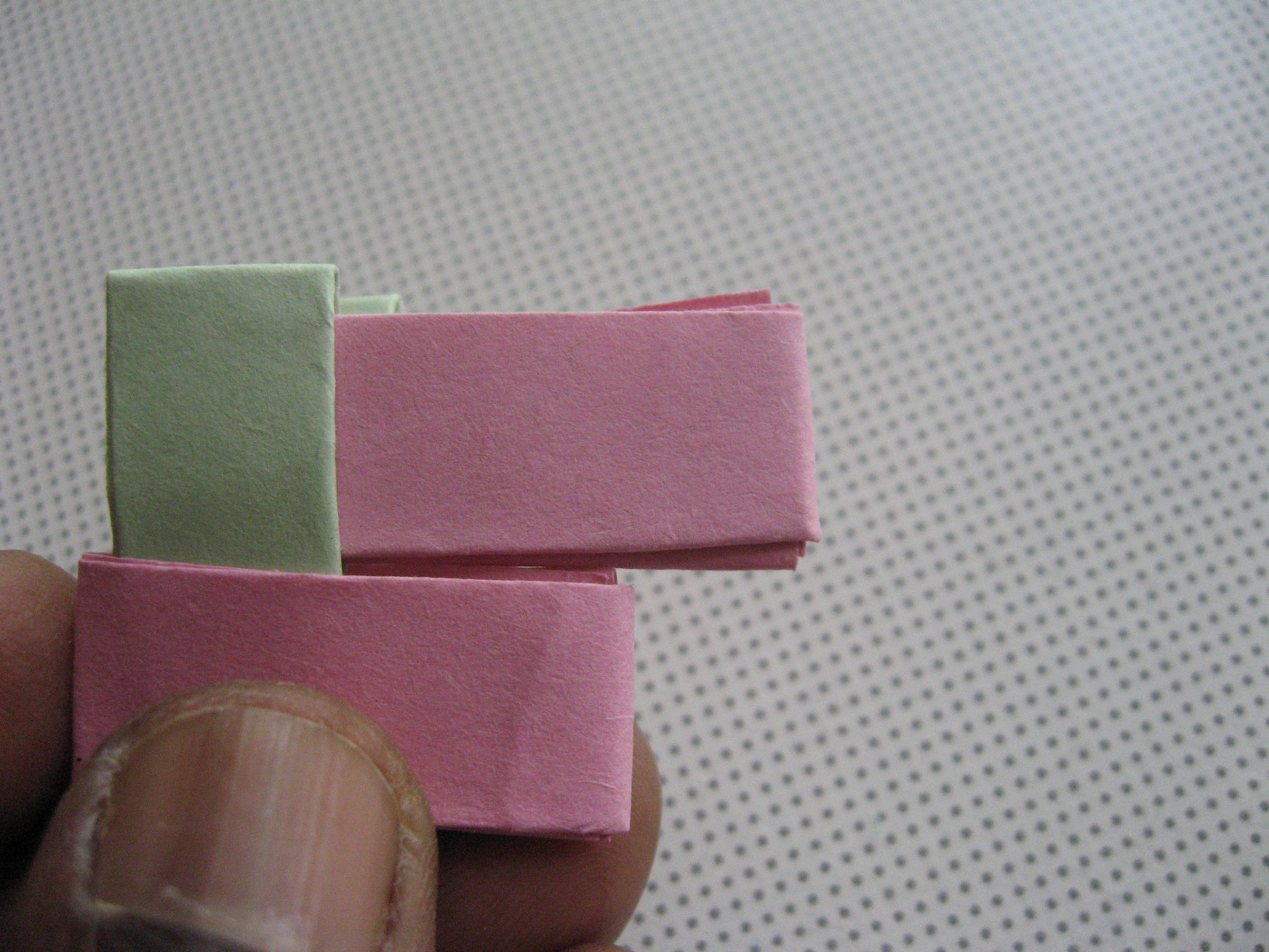 Picture of Start Connecting the Folded Strips