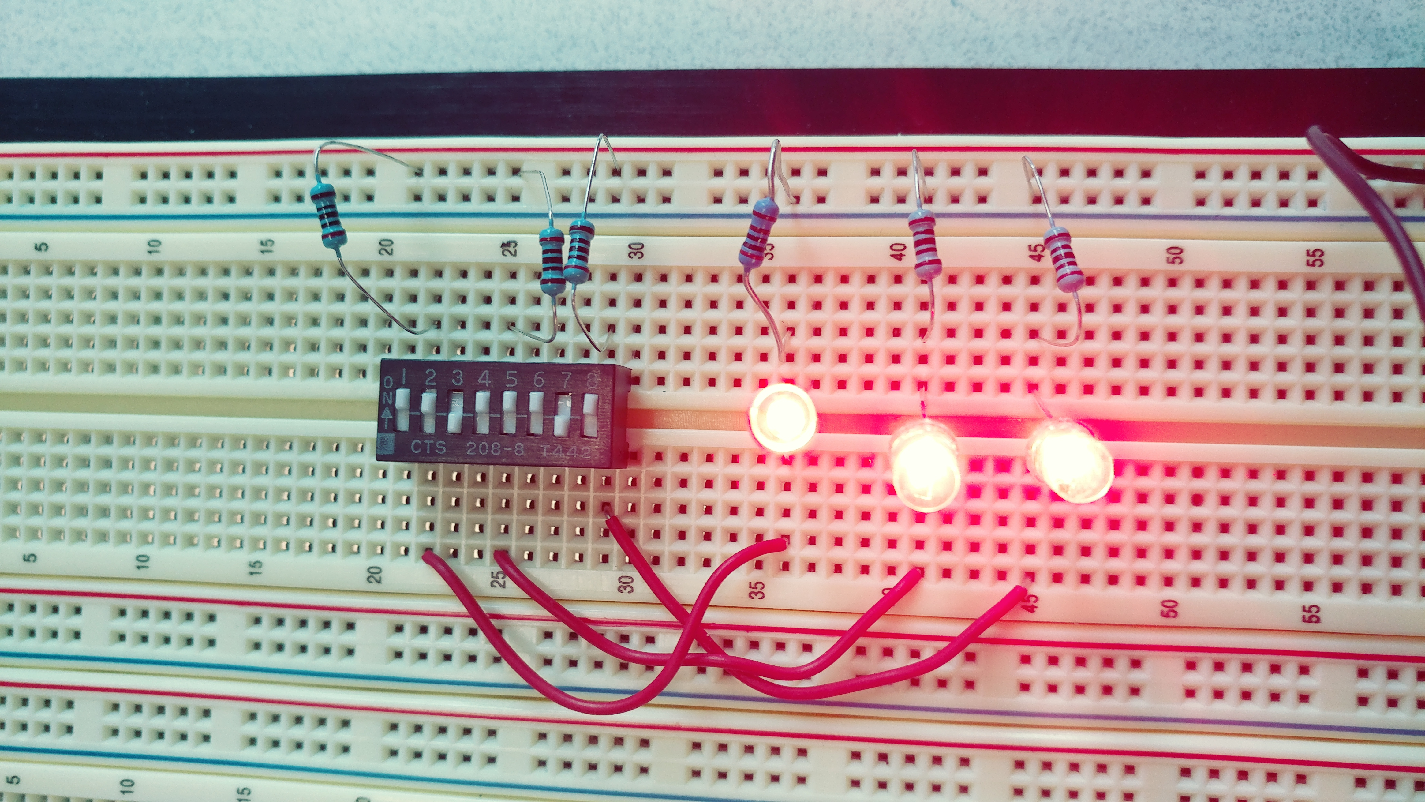 Picture of How to Make a Simple LED Circuit