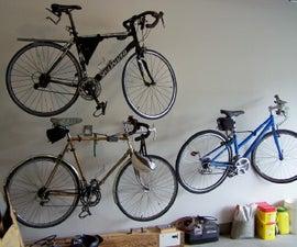 An Easy Welded Bike Hanger