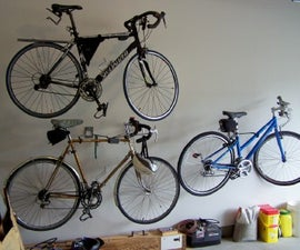 An Easy Welded Bike Hanger
