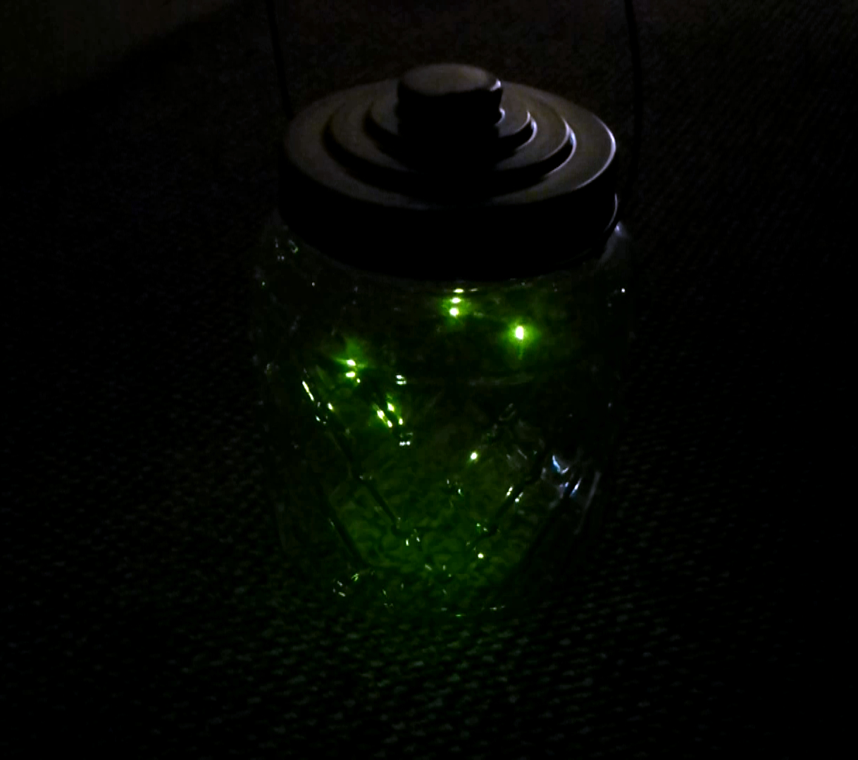Picture of Jar of Fireflies (animated)