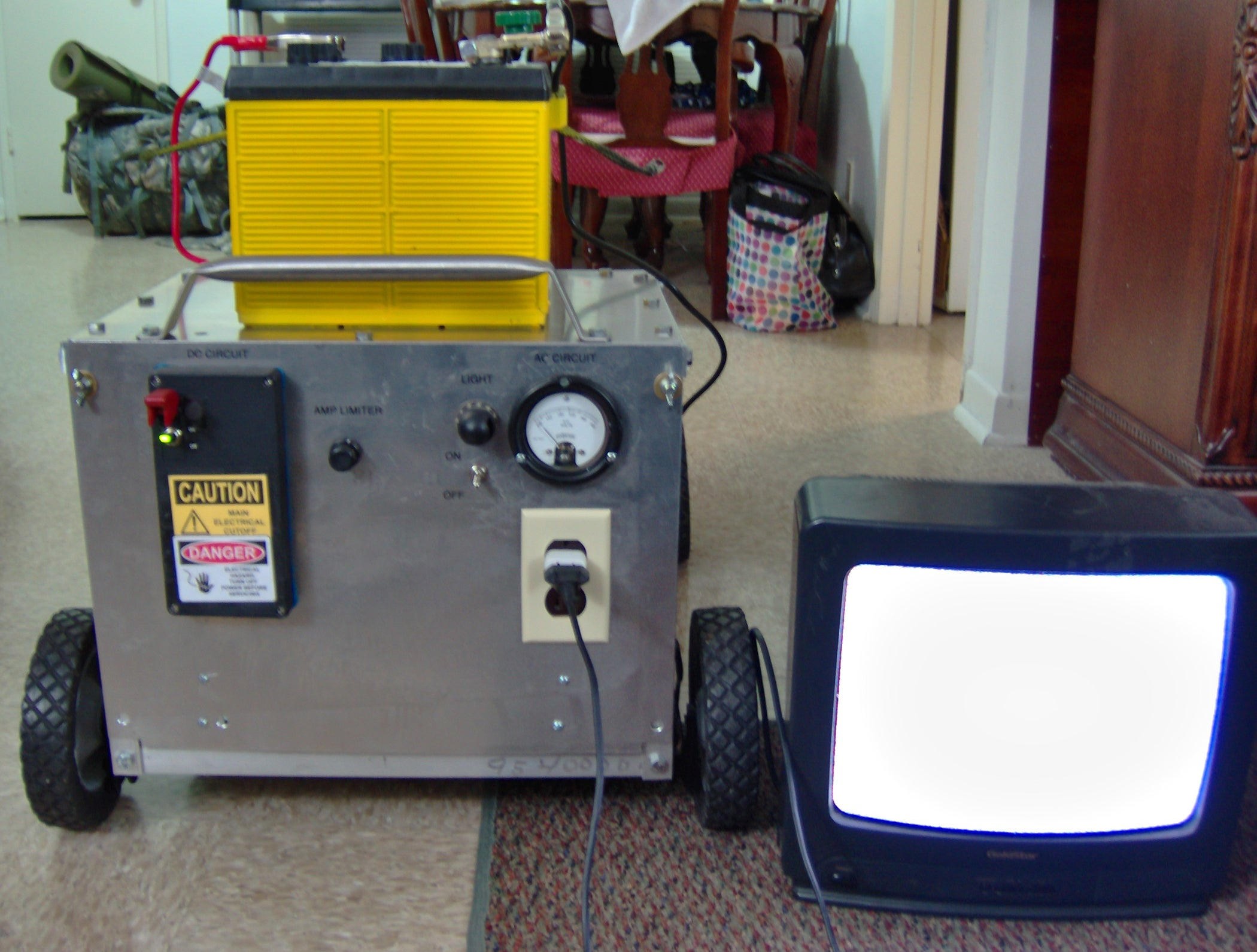 Lawnmower Power Generator With A Twist 18 Steps Pictures Automotive Alternator Ac Circuits