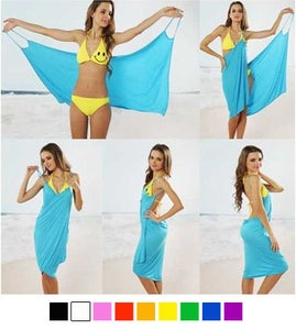 Sew a Bathing Suit Wrap Cover Up