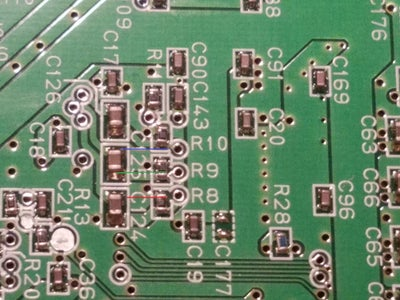 Soldering the Wires to the Board
