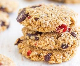 Flourless Chocolate Oatmeal Cookies