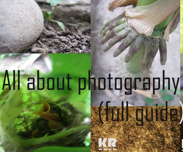 All You Need to Know About Photography