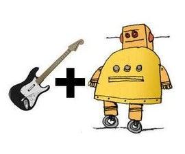 How to make a RockBand Guitar playing Robot!