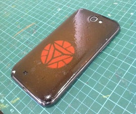 5$ DIY phone cover/case