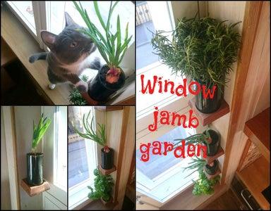 Window Jamb Garden