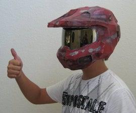 How to make a Halo Helmet using Pepakura!