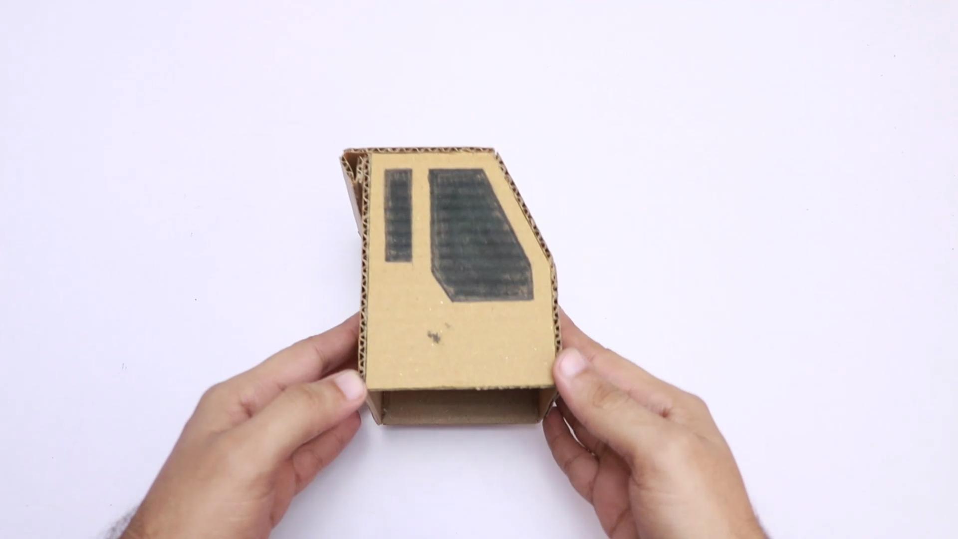 Picture of Cut Cardboard Sheet in Shape