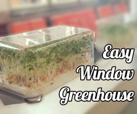 Easy Window Greenhouse