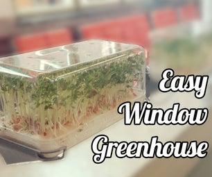 Easy Window Greenhouse