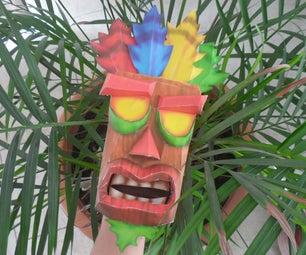 Aku Aku Papercraft: Crash Bandicoot Special!