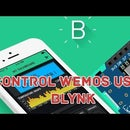How to Control Wemos D1 Mini/ Nodemcu Using Blynk App (IOT) (esp8266)