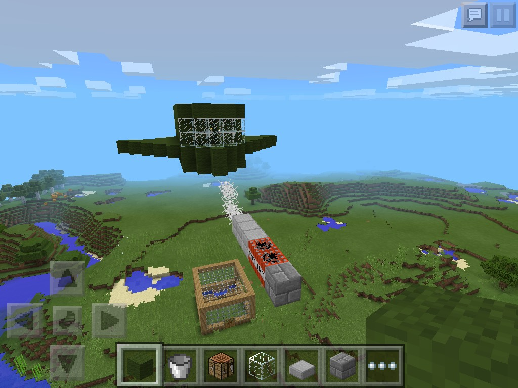 Picture of How to Make a Minecraft Fighter Jet