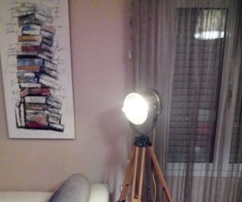 How I Made This Tripod Floor Lamp