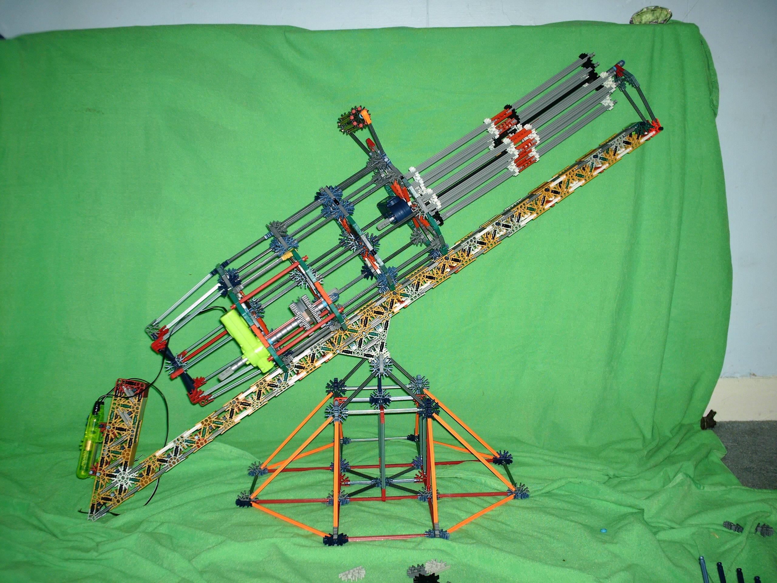 Picture of RMConstruction's Knex Minigun, V2.0