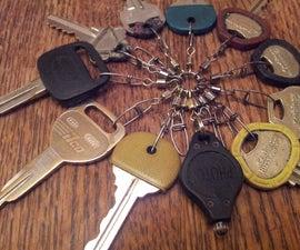 Keyring 2.0 - A better key ring