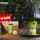 Make a Halloween Witches Hat Bird Feeder