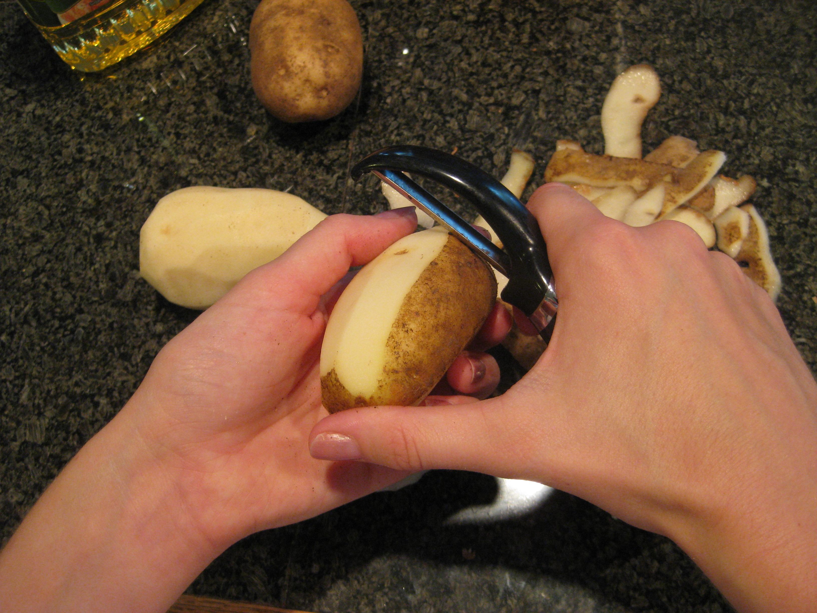 Picture of Peel Potatoes!