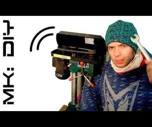 MK: DIY Drill Press Vibrations #QuickTip