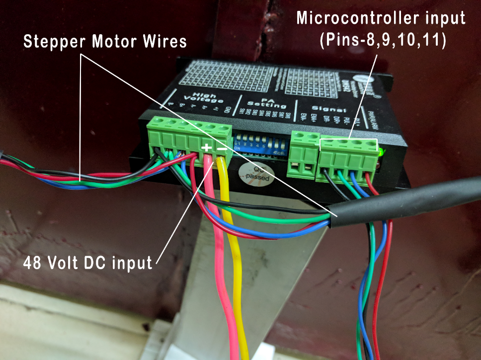 Picture of Electronic Connections and Program