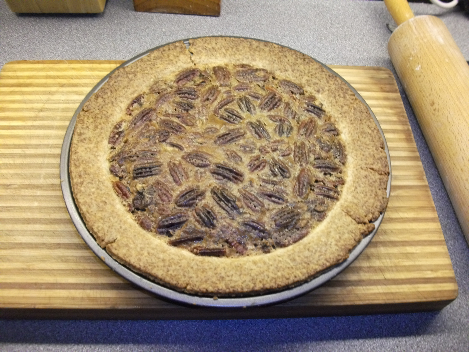 Picture of How to Make Pecan Pie Without Corn Syrup (Karo)