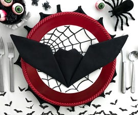 Bat Napkin Folding