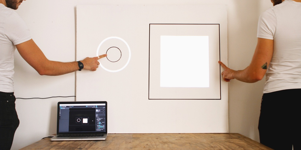 Picture of How to Do Projection Mapping With the Touch Board