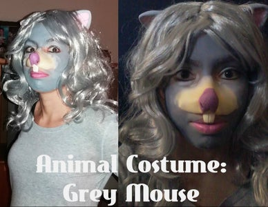 Animal Costume Idea: Grey Mouse