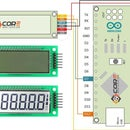 How to wire the 6 Digit 7 Segment 2.4 Inch Ht1621 LCD Display Module On Arduino Microcontroller