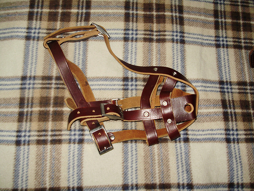 Picture of Leather Harness Muzzle
