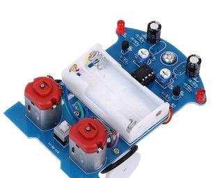 Soldering D2-5 Tracking Smart Car Kits