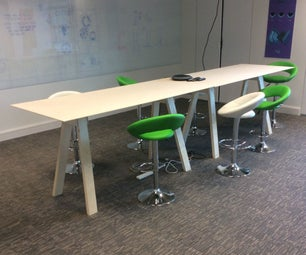 High Trestle Table - Including Prototype Table