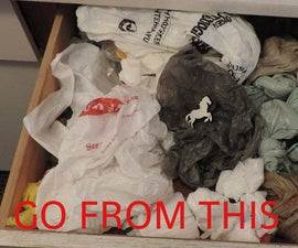 Tame those shopping bags