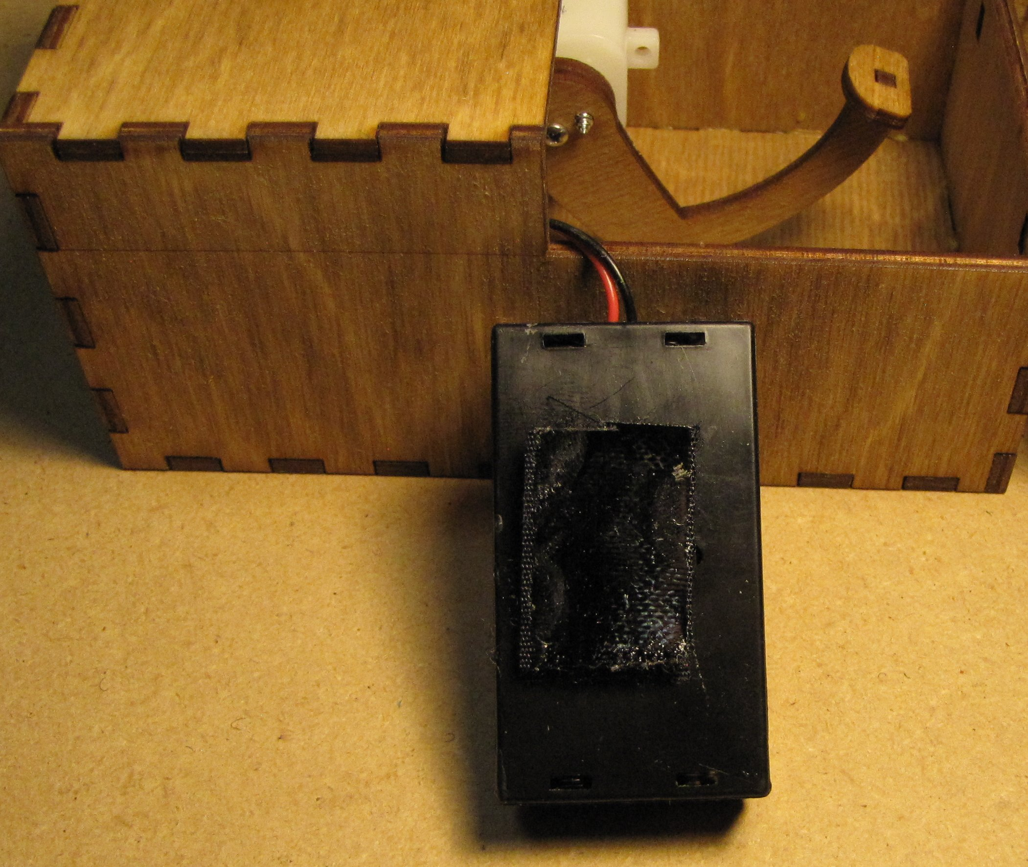 Picture of Add Velcro to Keep Battery Box in Place
