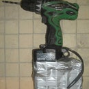 Power Drill on Steroids - huge UPS battery transplant