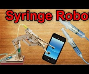 ✔ Cool Syringe Robot Instead of a Tripod