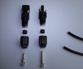 MC4 solar connectors