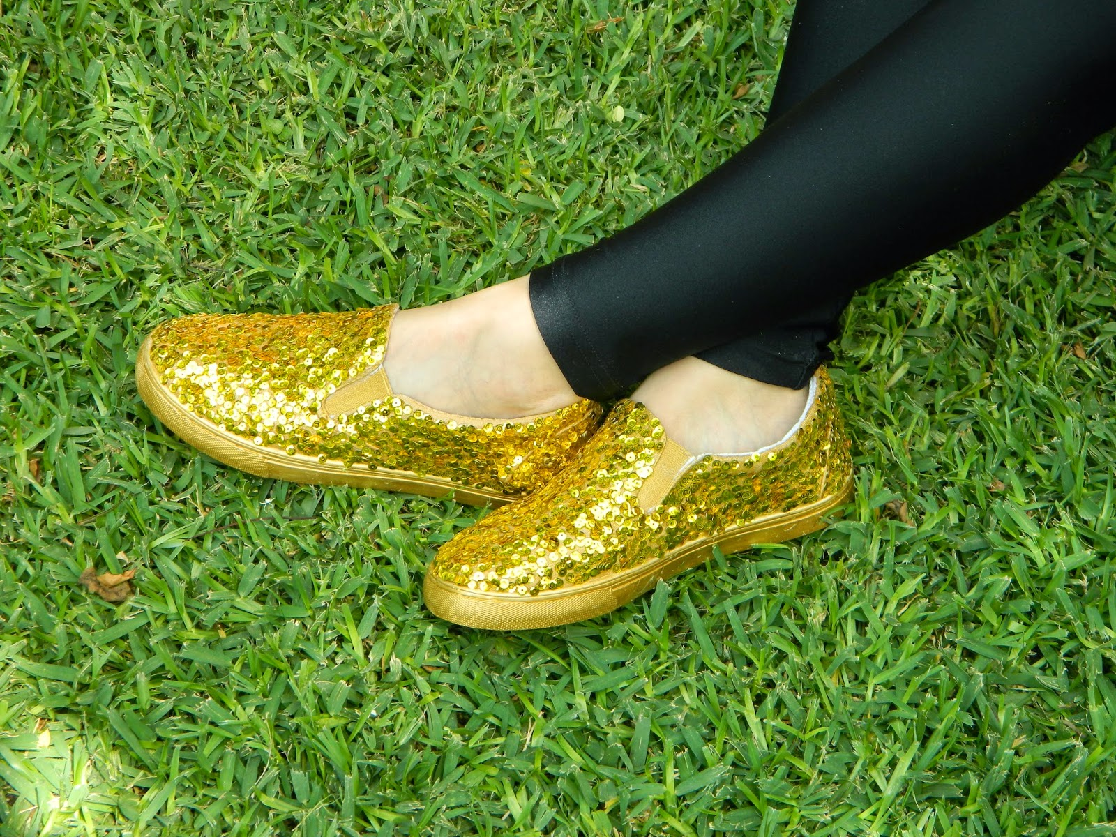 Picture of Sparkly Sequin Shoes