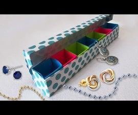 DIY Paper Crafts : Origami Jewelery Box Tutorial