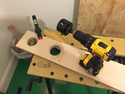 Cut the Plywood for the Base