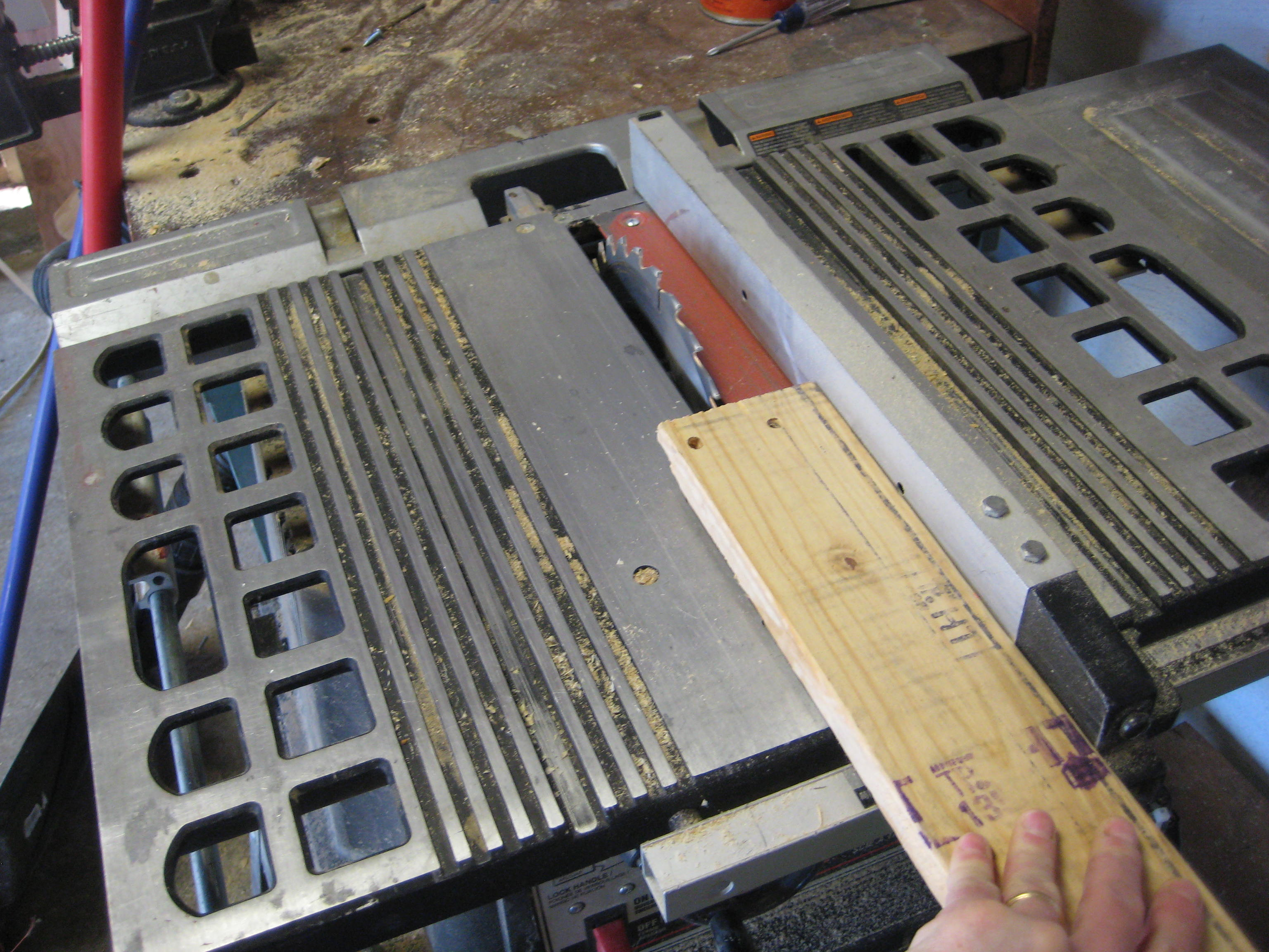 "Picture of Cut (9) 1.75"" Seat Slats"
