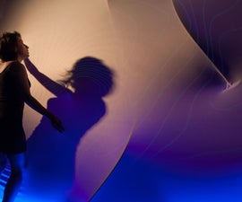 Breathing Wall: projection mapping onto a moving surface  using a depth camera