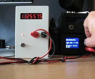 High Resolution Frequency Counter