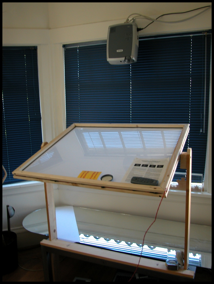 Picture of Interactive Multitouch Display